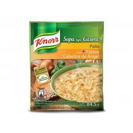 Sopa de pollo con fideos de cabello de Angel Knorr 84,5g