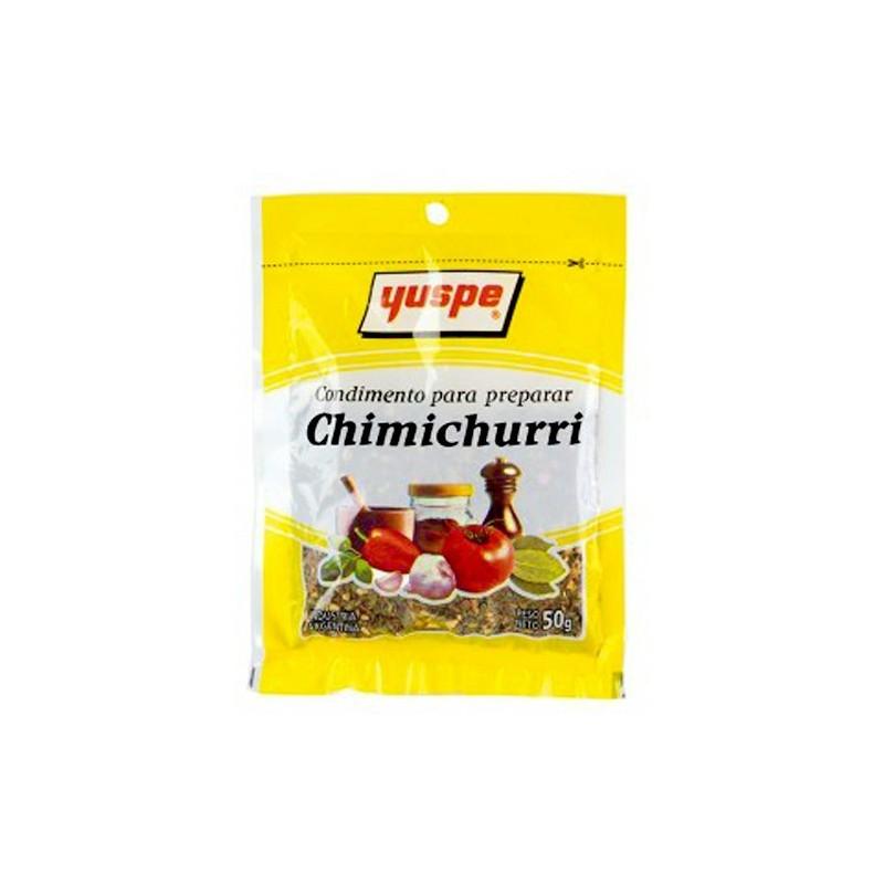 Condiment préparer Chimichurri Yuspe 50g