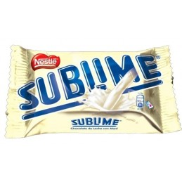 Chocolate Sublime blanco 32g