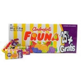 """Bonbons Fruna """"D'Onofrio"""" - carton 40 pc"""