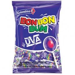 Sucette Bon Bon Bum Raisin - sachet 24 pc