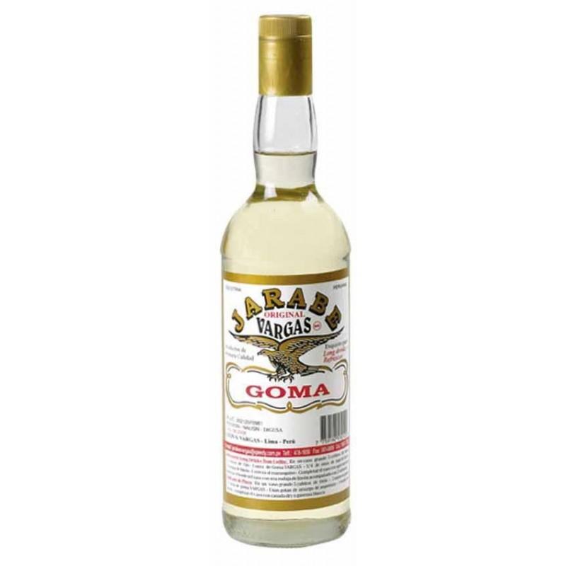 Botella de Jarabe de goma - preparacion pisco sour  750ml
