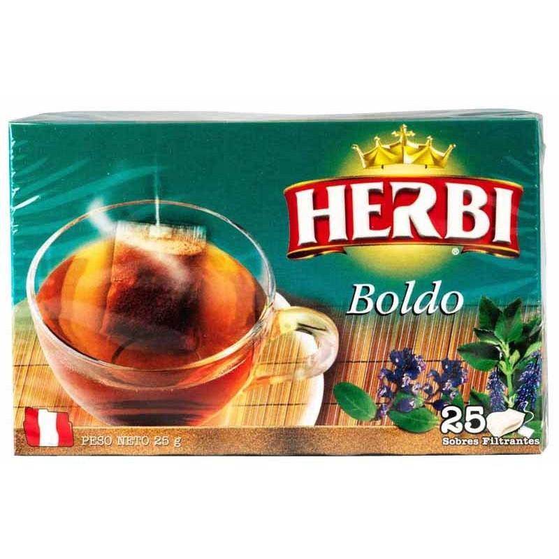 Thé filtrante de Boldo herbi  25und