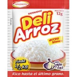 Sazonarroz (ajos, cebolla, sal, aceite) preparacion de arroz
