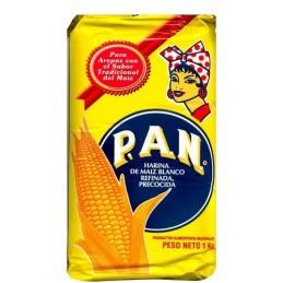 harina Pan de Maiz  blanca NON GMO 1 KILO