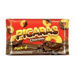 Galletas PICARA - bolsa de 6 paquetes
