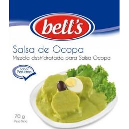 Poudre deshydratée préparation Sauce Ocopa Bell's 70g