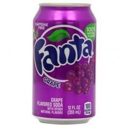 Soda Fanta Uva 355ml