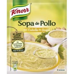 Sopa de Pollo con Fideos Cabellos de Angel Deshidratada 84.50g