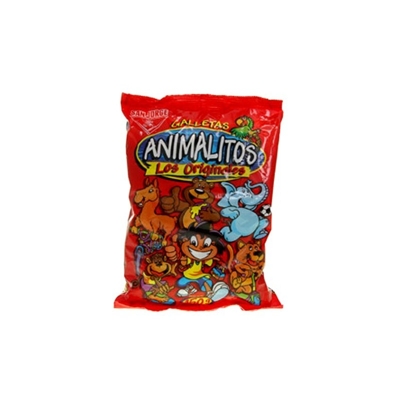 Galletas de animalitos San Jorge  100gr