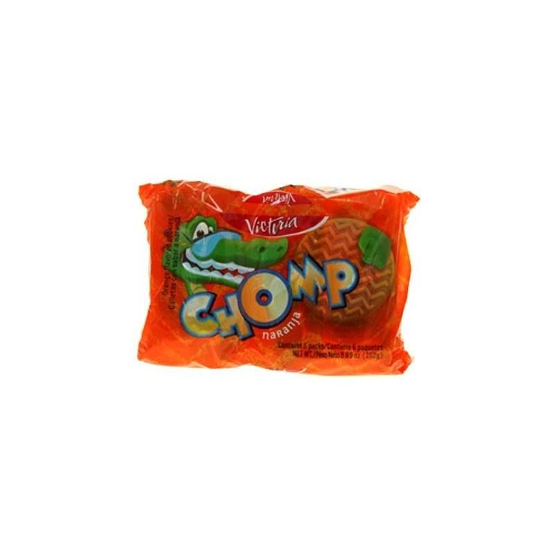 Galletas Chomp de naranja pack 6 und
