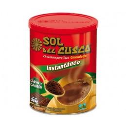 Chocolate para taza granulado Sol del Cuzco 324g