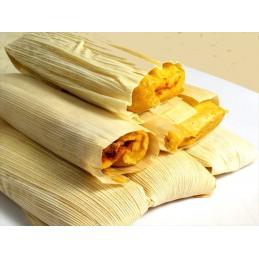 Feuilles maïs sèches 60pc