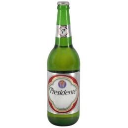 """Cerveza rubia """"Présidente""""  35cl"""