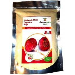 Harina de Maca Orgánica Roja Agrorgánica 250g