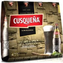 Cerveza cuzqueña rubia caja 6pack
