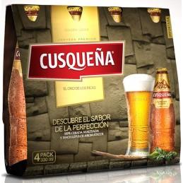 Cerveza cuzqueña rubia 4pack
