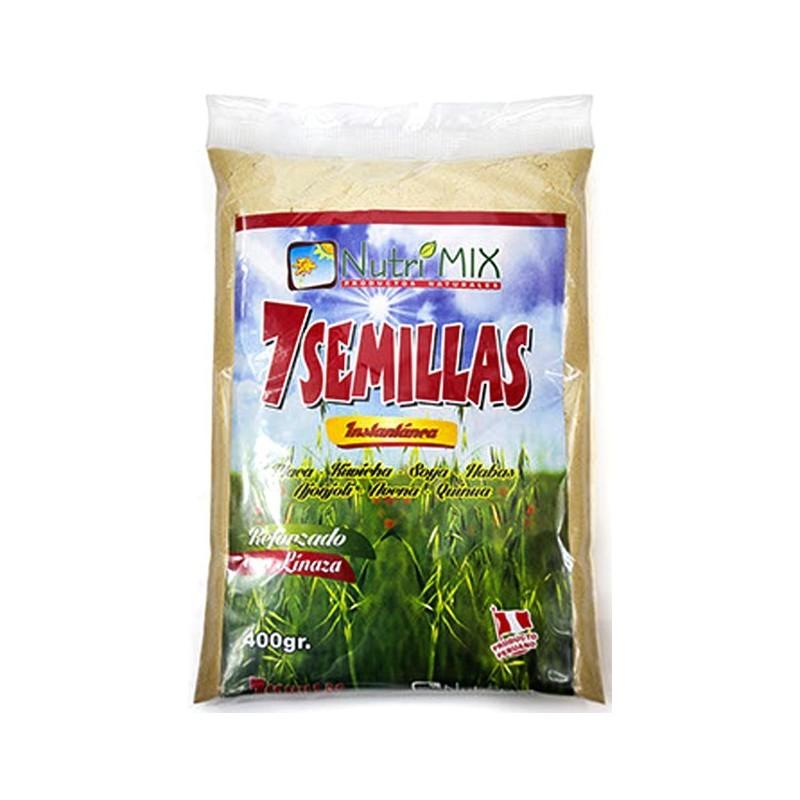 7 Semillas Nutrimix (Maca, Amarante, Soja, Trigo, Sésame, Avoine, Quinoa) 400gr