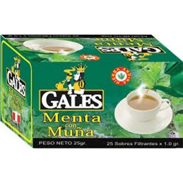 Infusion Menthe avec Muña (herbe andine) 25 sachets 25g