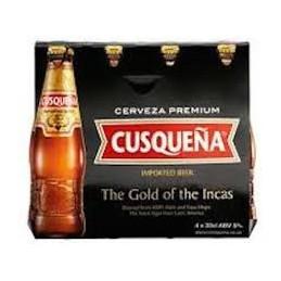Cerveza Cuzqueña Roja en botella caja de 24 botellas