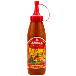 Sazón Ranchero liquido picante 322ml