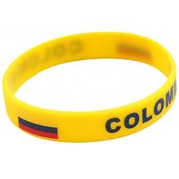Bracelet en silicone Colombie une pièce