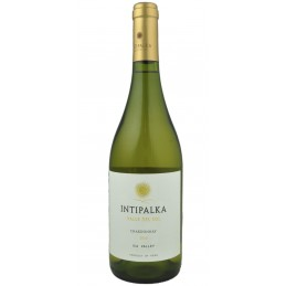Vino INTIPALKA Chardonnay blanco 12,5% Botella  750 ml