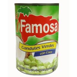 Guandules Verdes con Coco  425gr