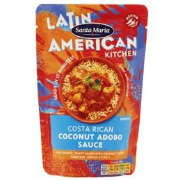 Salsa picante Costa Rican Coconut Adobo Sauce  VEGAN - SANS GLUTEN 200g