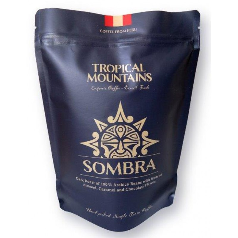 Café BIO PERUANO Tropical Mountains SOMBRA 250g