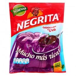 Gelatina sabor a Uva - La Negrita 160g