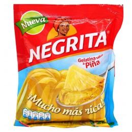 Gélatine au goût d'ananas La Negrita 160g