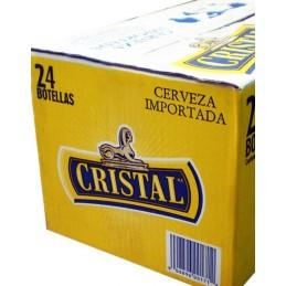 Bière péruvienne Cristal carton 24 bouteilles 33cl