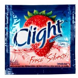 Bebida Instantánea en polvo Clight Fresa con Splenda 7gr