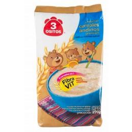 Avoine avec céréals Andins Premium 3 Ositos 270g