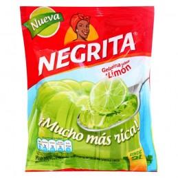 """Gelatina sabor a Limón """"La Negrita""""  - Tamaño 160gr"""