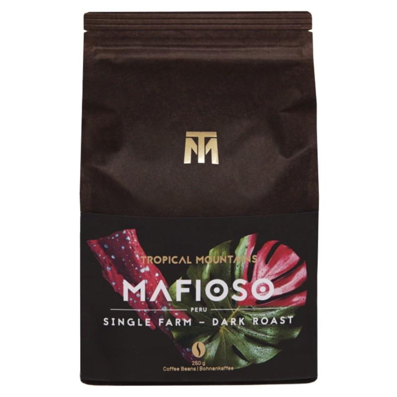 MAFIOSO COFFEE BEANS ORGANIC FAIR TRADE Dark roast, 100% Arabica, Peru Single Farm, Bio Fair Trade
