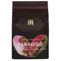 PARADISO CAFE GRANOS ORGANICO Medium roast, 80% Arabica, 20% Robusta, Peru Single Farm, Bio Fair Trade 250g