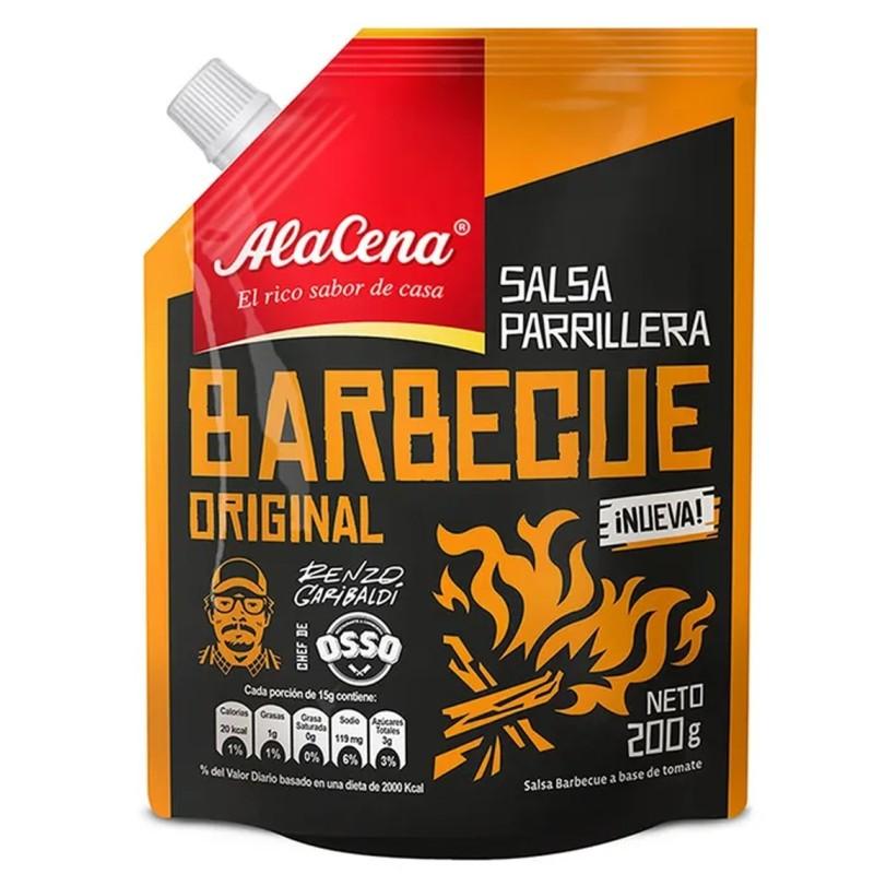 Salsa Parrillera Barbecue Original ALACENA Doypack 200 gr