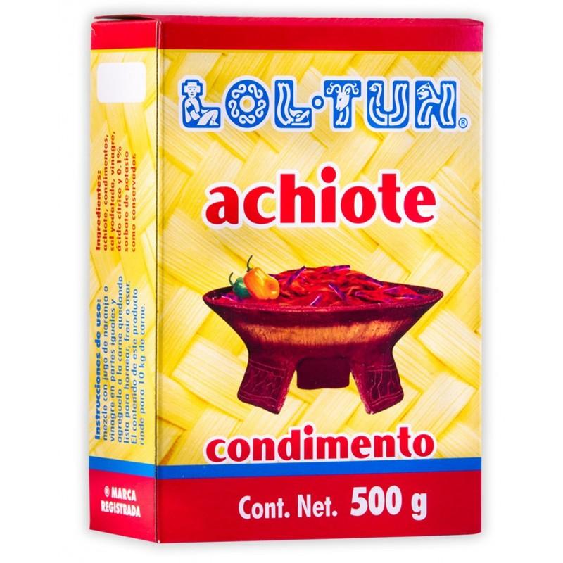 Pasta de Achiote 500g