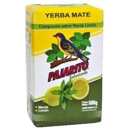 Yerba Mate Pajarito Menta Limón 500g