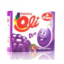 Gelatina de Uva Oli 85g