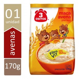 Maca Avoine 3 Ositos 170g