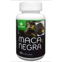 Maca Noire Vidax 100 capsules
