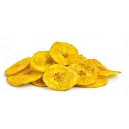 Würziger Bananenchips-Snack...