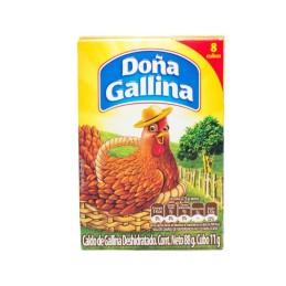 Caldo de pollo Doña Gallina...