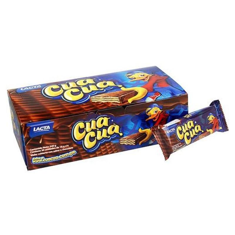 Chocolate Cua Cua - caja 30 unidades