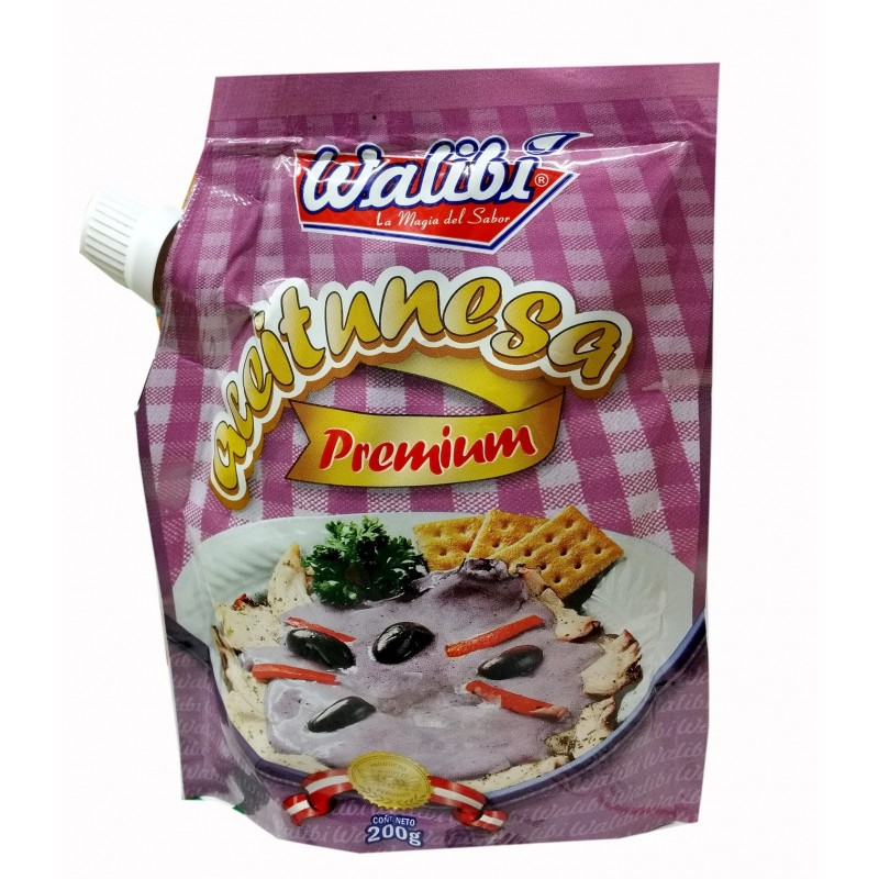 Aceitunesa marca Walibi  (mayonesa a sabor de aceituna) 200gr
