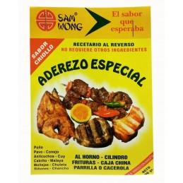 """Aderezo Especial para anticucho y pollo  """"San Wong""""  100gr"""
