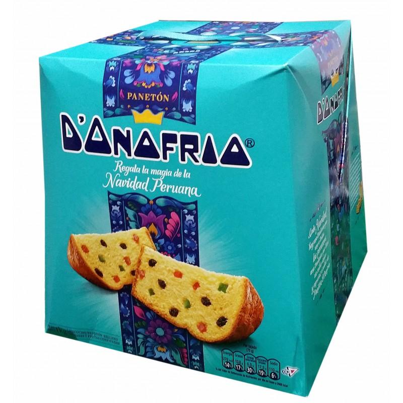 """Panetón """"d'Onofrio""""  (vendemos en Noviembre y Diciembre)"""